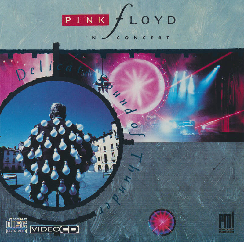 Pink Floyd - Delicate Sound Of Thunder [UK] - Video CD