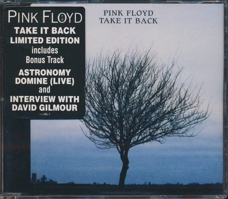 Pink Floyd - Take It Back [Australia] - CD Single