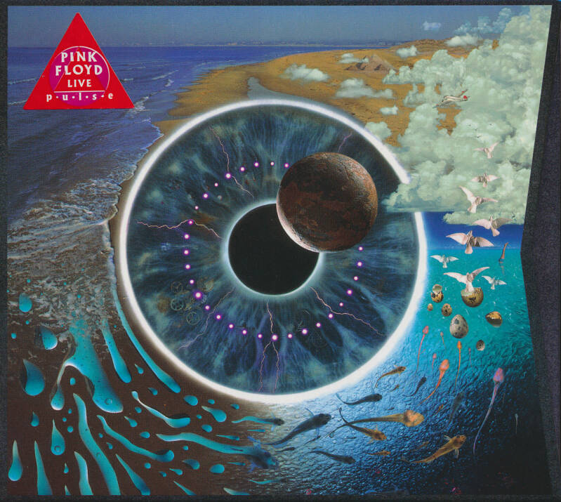 Pink Floyd - P·U·L·S·E [Holland/EU] - 2CD