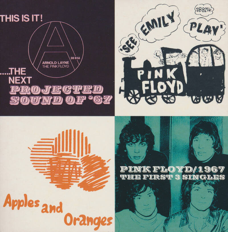 Pink Floyd - 1967 / The First 3 Singles [Holland/UK] - CD Single