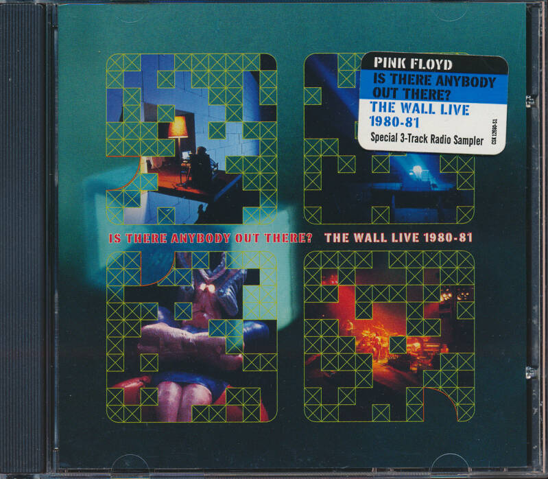 Pink Floyd - Is There Anybody Out There? - Special 3-Track Radio Sampler [USA, promo] - CD