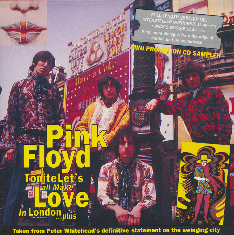 Pink Floyd - Tonite Let's All Make Love In London … Plus - Mini Promotion Album Sampler [UK] - CD