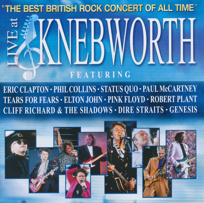 Pink Floyd (and others) - Knebworth [Germany] - 2CD