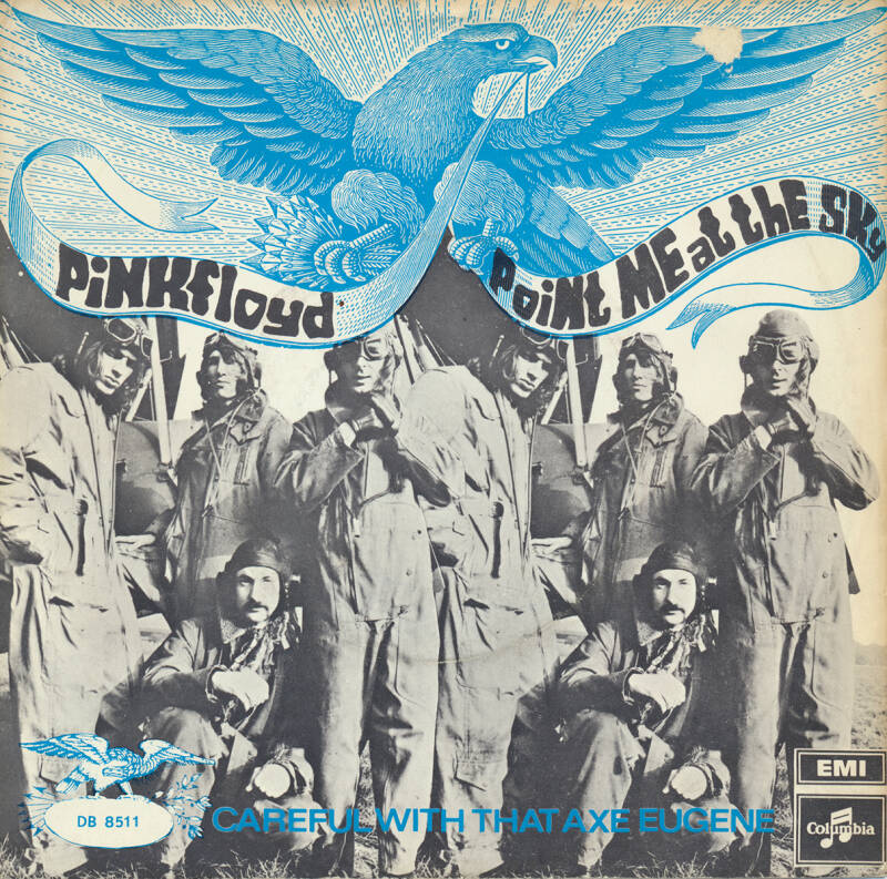 """Pink Floyd - Point Me At The Sky [Holland] - 7"""""""