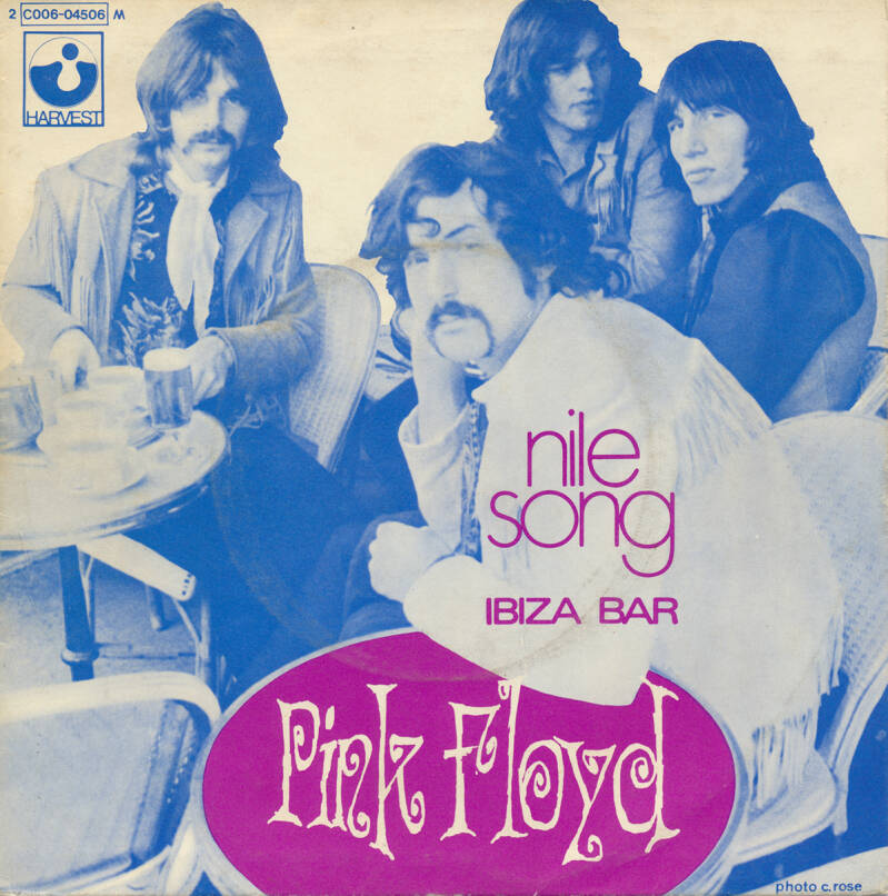"""Pink Floyd - The Nile Song [France] - 7"""""""