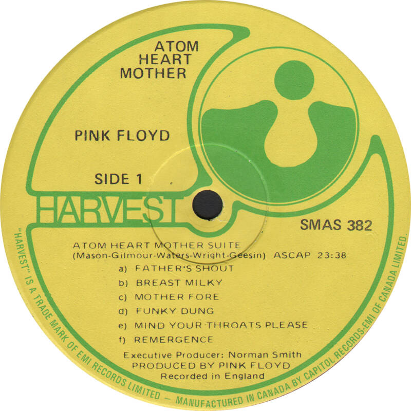 Pink Floyd - Atom Heart Mother [Canada] - LP