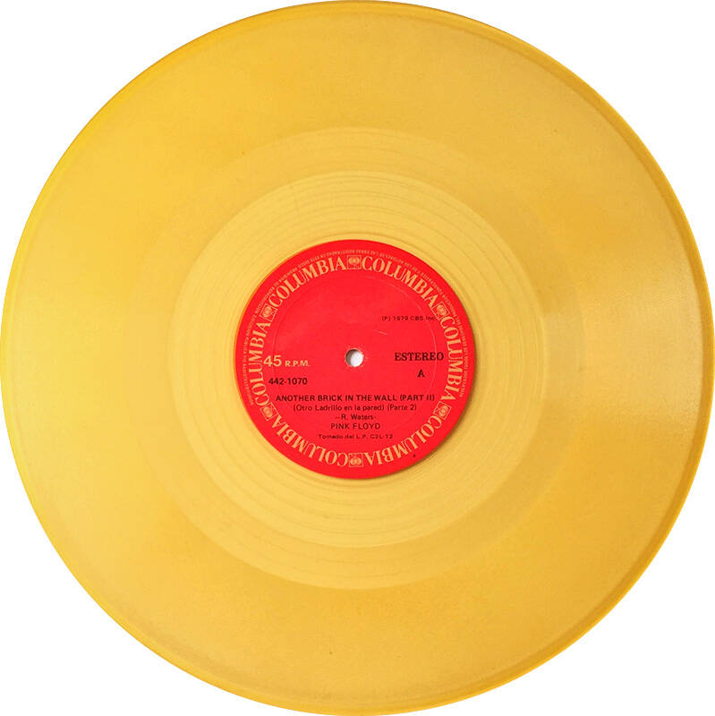 """Pink Floyd - Another Brick In The Wall Part 2 [Colombia, yellow vinyl] - 12"""""""