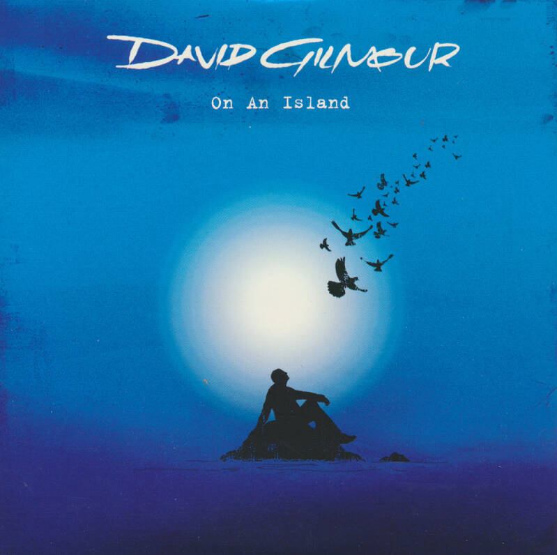 David Gilmour - On An Island [EU/Italy, promo] - CD Single