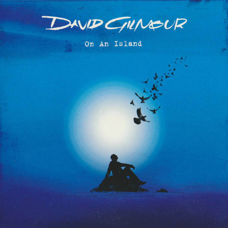 David Gilmour - On An Island [EU, promo] - CD Single
