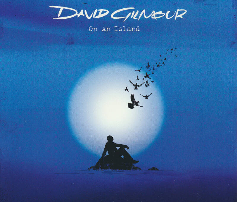 David Gilmour - On An Island [USA, promo] - CD Single