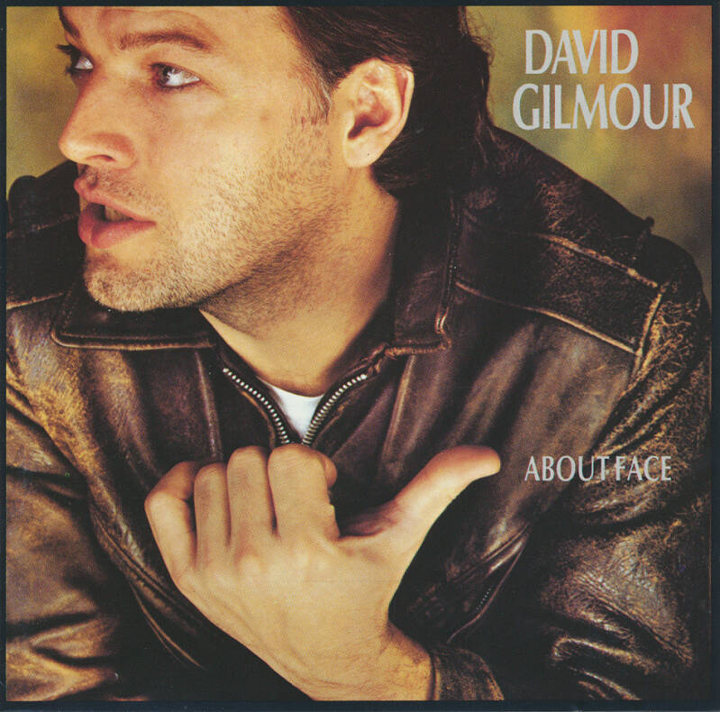 David Gilmour - About Face [West Germany] - CD