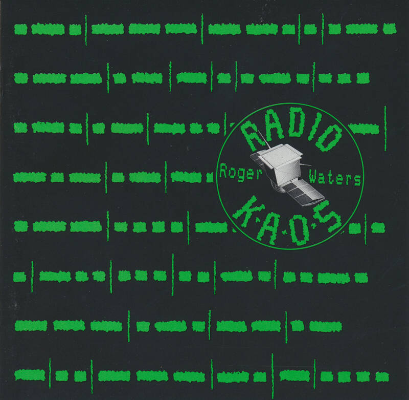 Roger Waters - Radio Kaos [UK, misprint] - CD