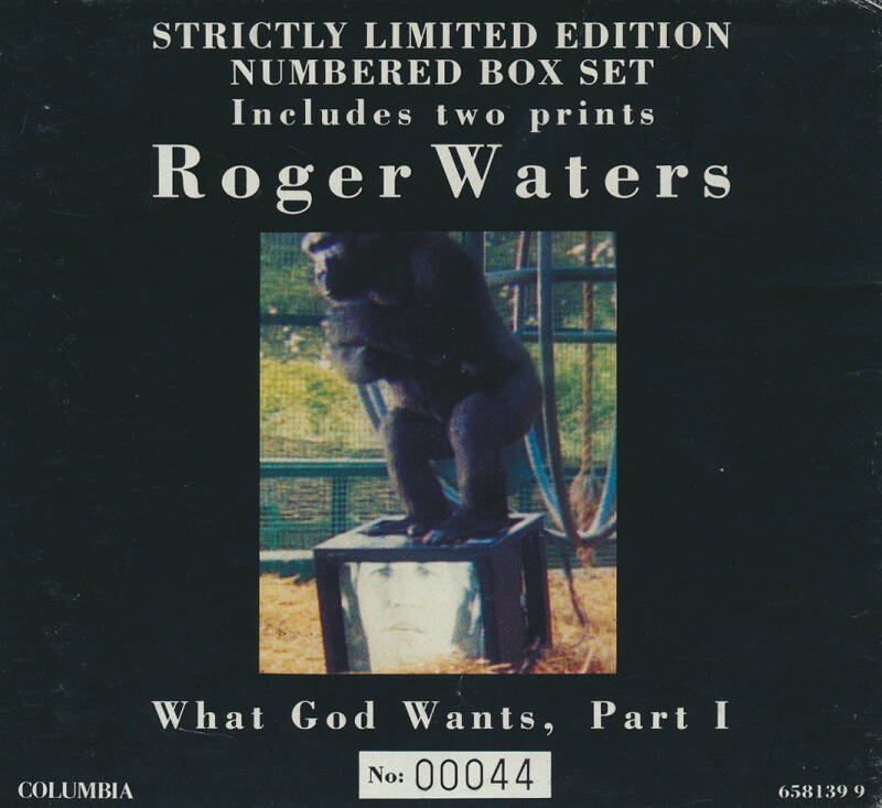 Roger Waters - What God Wants Part 1 [Austria, #00044] - CD Single