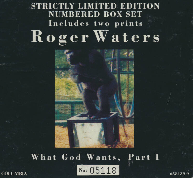 Roger Waters - What God Wants Part 1 [Austria, #05118] - CD Single