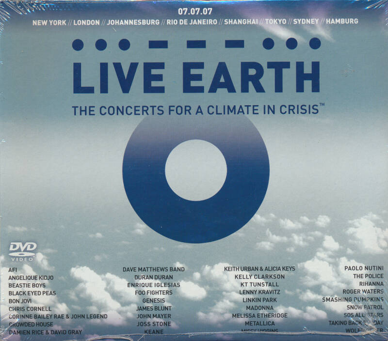Roger Waters (and others) - Live Earth [EU] - CD/2DVD