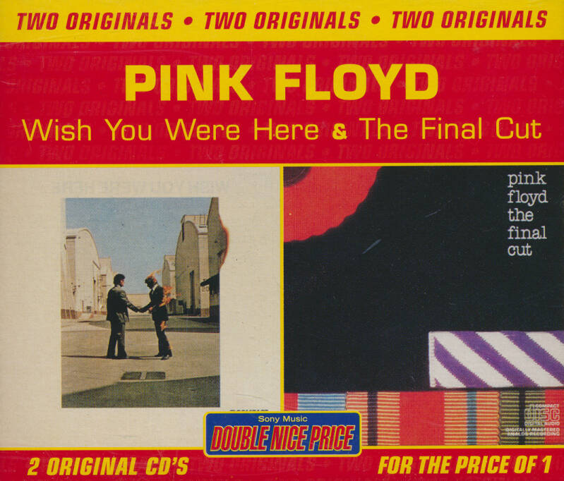 Pink Floyd - Two Originals: The Final Cut / Wish You Were Here [Australia] - 2CD