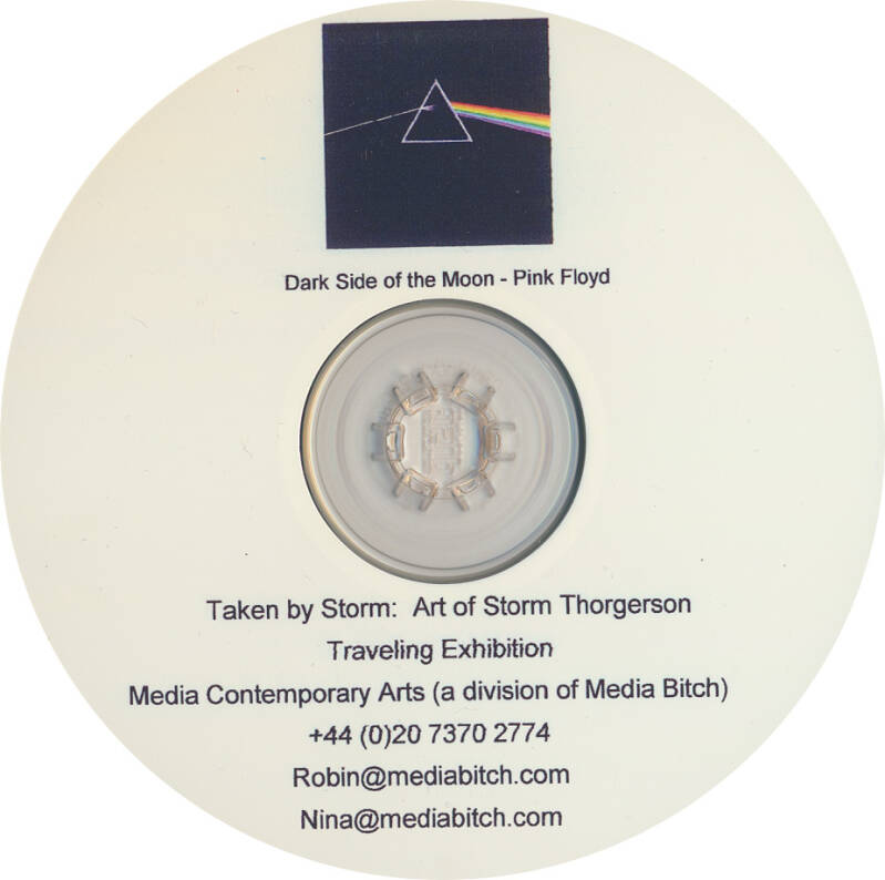 Pink Floyd - Taken by Storm: Art of Storm Thorgerson [UK, promo] - CD