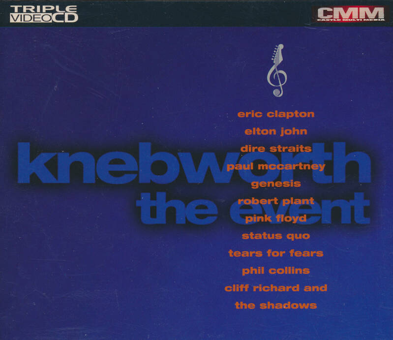 Pink Floyd (and others) - Knebworth - The Event [UK] - Video CD