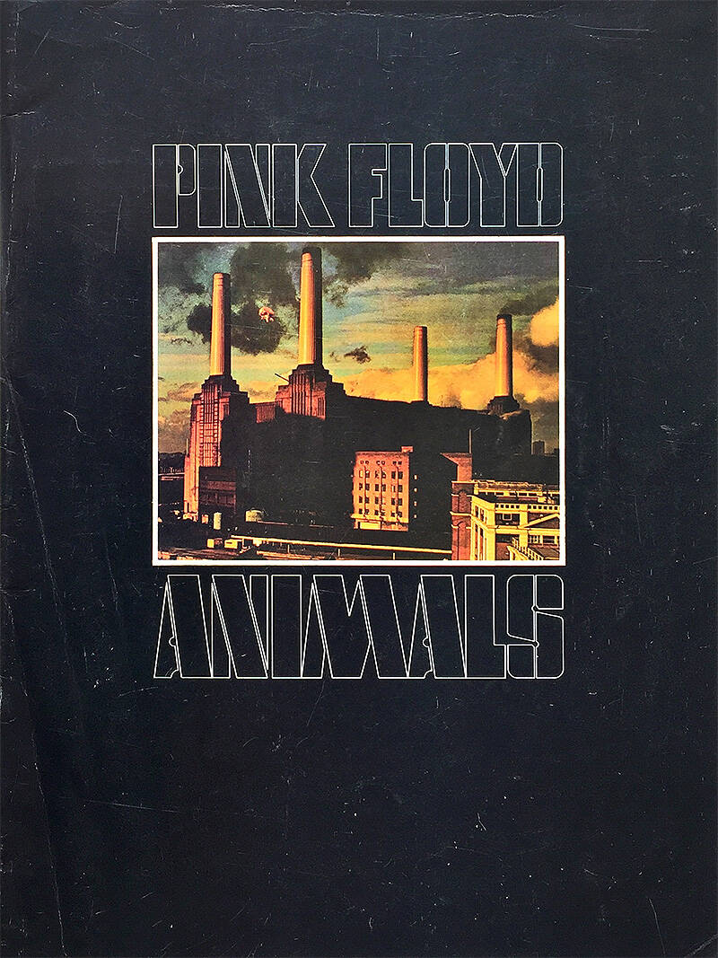 Pink Floyd - Animals [UK] - Programme