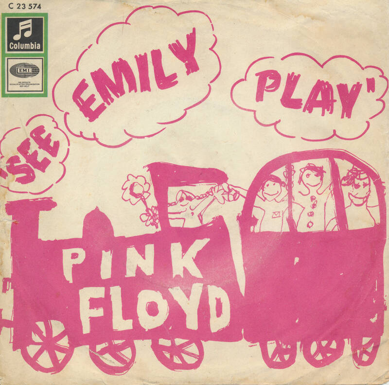 Pink Floyd - See Emily Play [Germany] - 7""