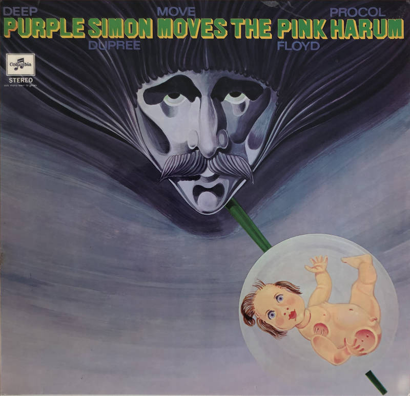 Pink Floyd (and others) - Purple Simon Moves The Pink Harum [Holland, sampler] - LP