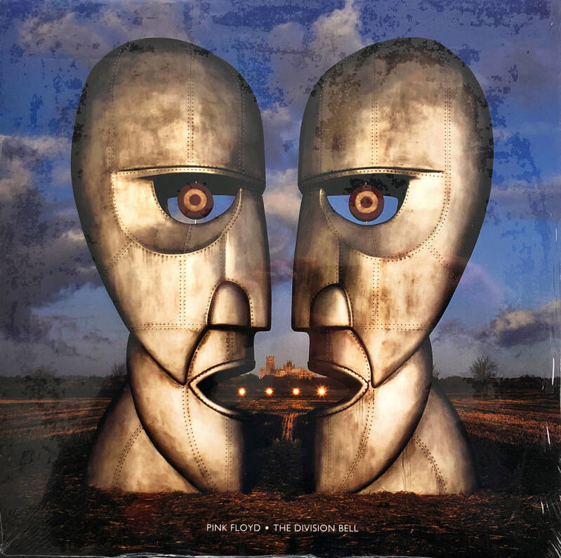Pink Floyd - The Division Bell [USA, blue vinyl] - LP