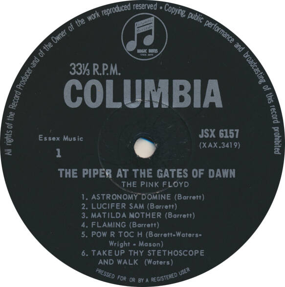 Pink Floyd - The Piper At The Gates Of Dawn [South Africa, mono] - LP