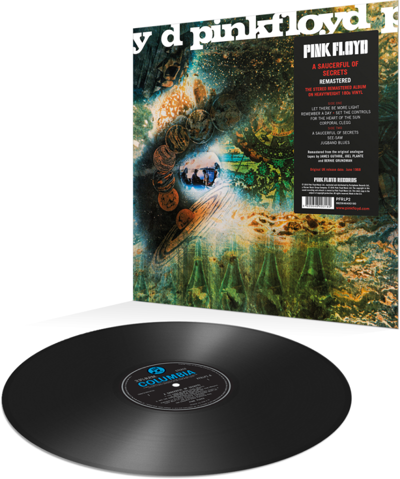 Pink Floyd - A Saucerful Of Secrets [EU] - LP