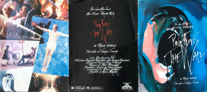 Pink Floyd - The Wall - Brochure