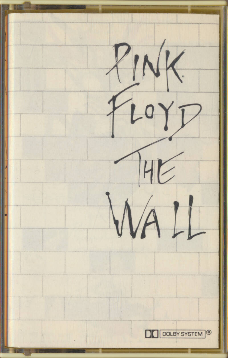 Pink Floyd - The Wall [Holland] - Audio Cassette