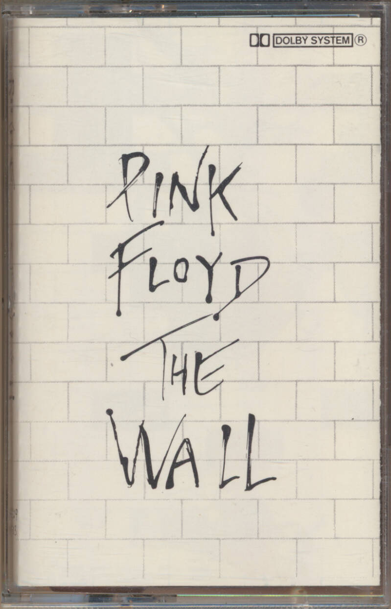 Pink Floyd - The Wall [EEC] - Audio Cassette