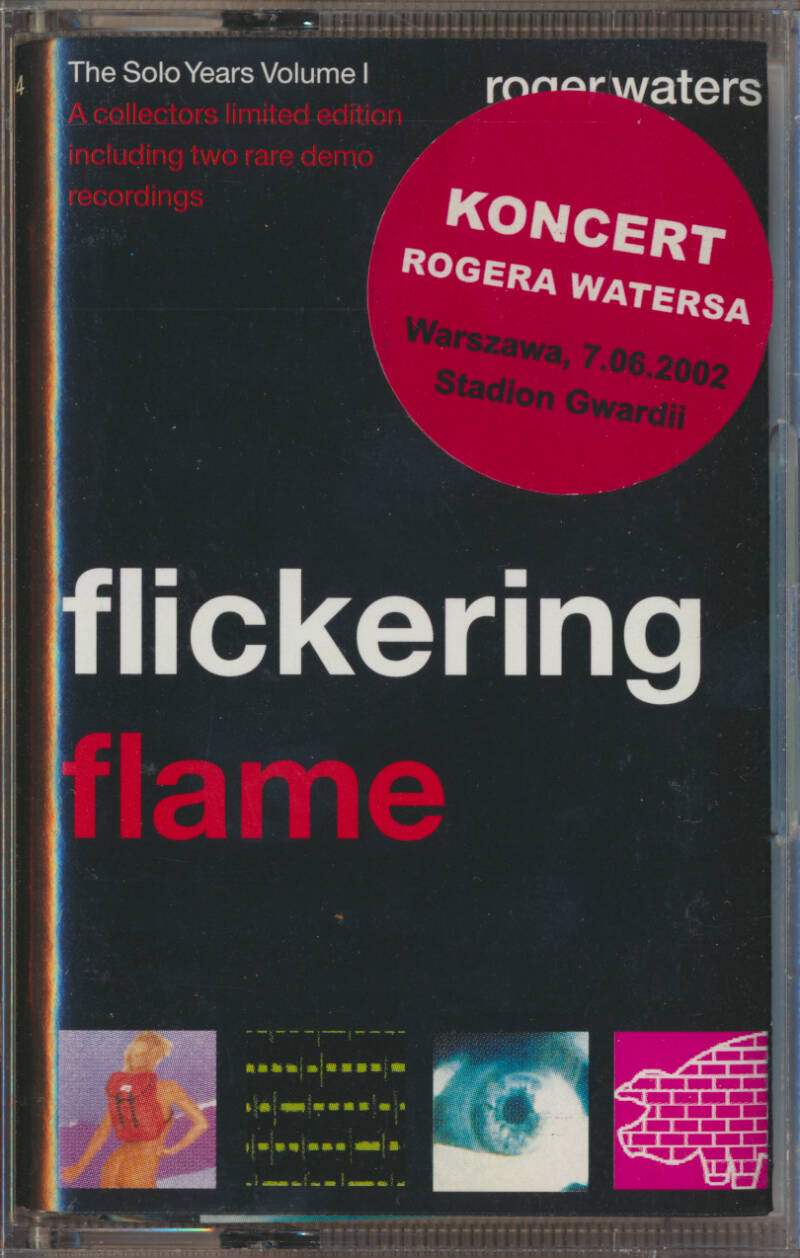 Roger Waters - Flickering Flame [Poland] - Audio Cassette