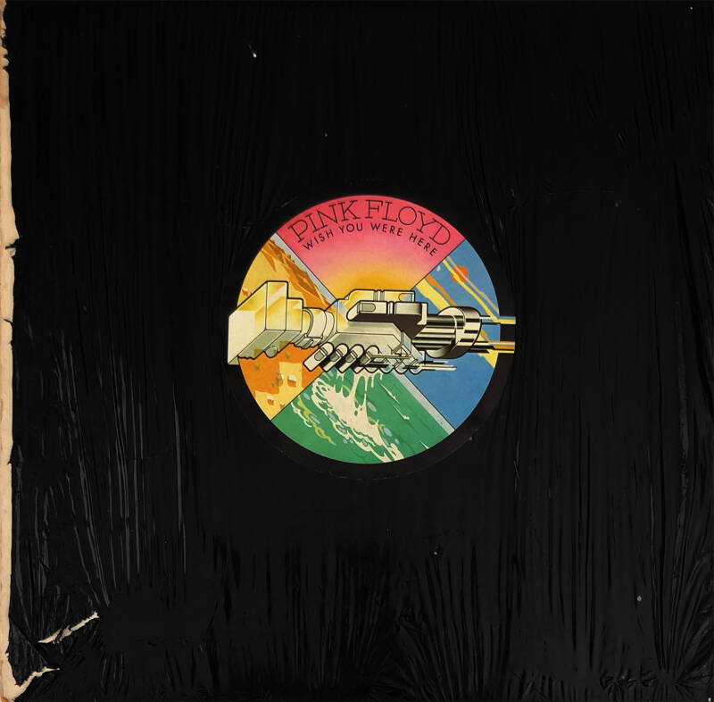 Pink Floyd - Wish You Were Here [UK, A-1/B-7 matrix] - LP