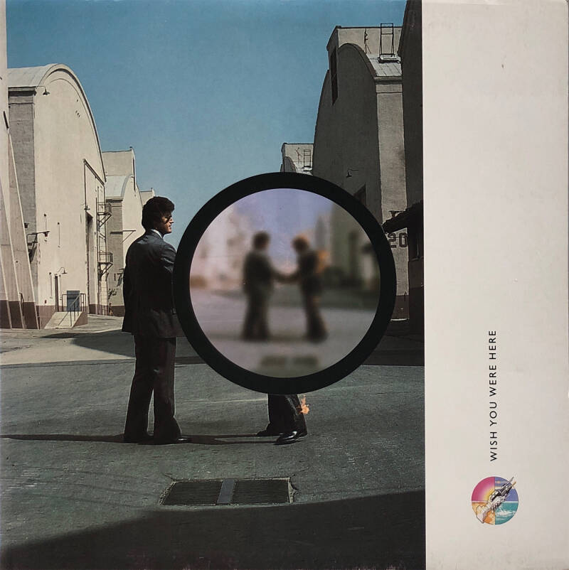 Pink Floyd - Wish You Were Here [UK, '97 edition] - LP