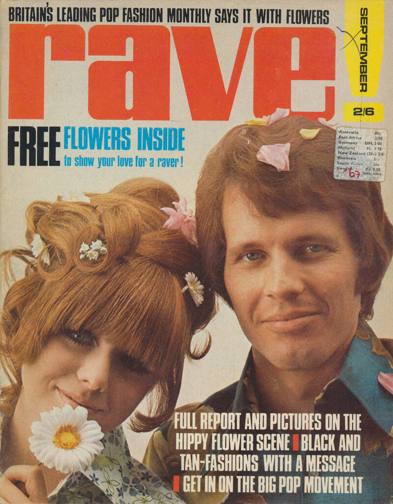 Pink Floyd - Rave, September 1967 - Magazine