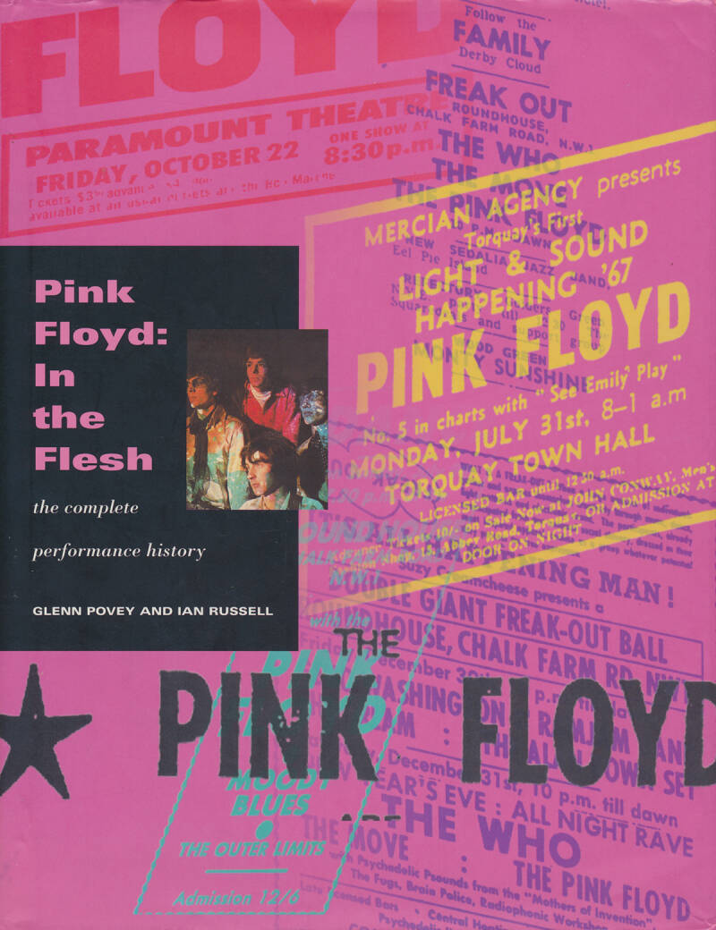 Pink Floyd - Pink Floyd: In The Flesh - Glenn Povey & Ian Russell [UK] - Book