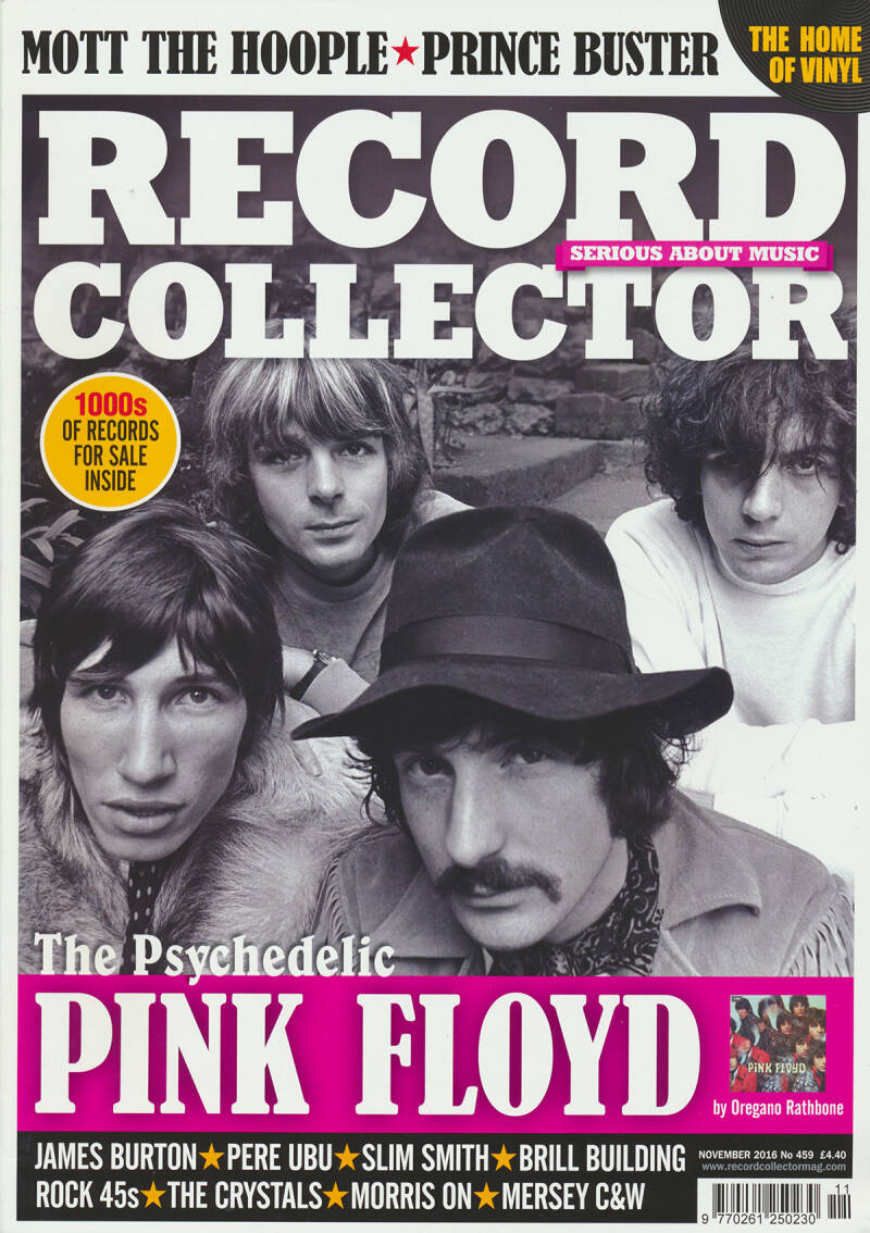 Pink Floyd - Record Collector 459 - November 2016 [UK] - Magazine