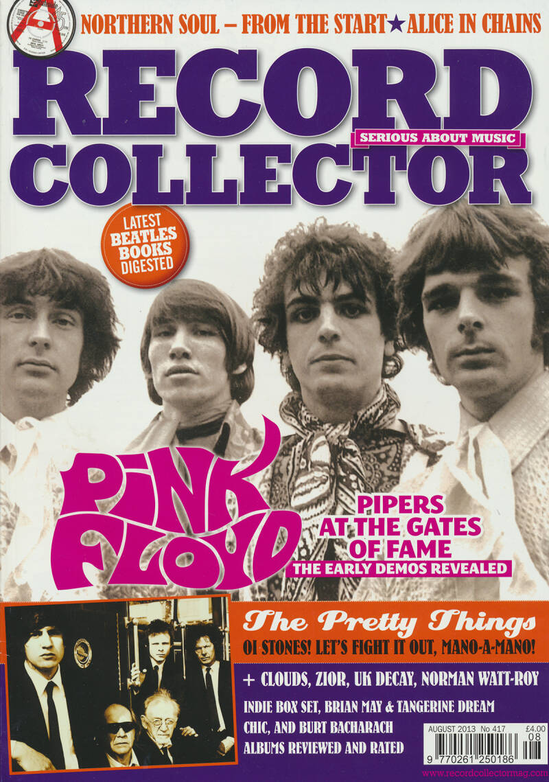 Pink Floyd - Record Collector 417, August 2013 [UK] - Magazine