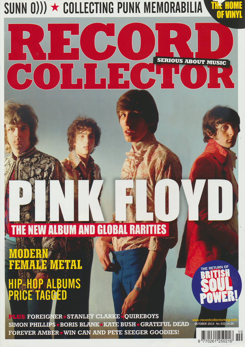 Pink Floyd - Record Collector 432, October 2014 [UK] - Magazine