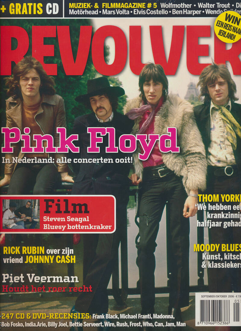 Pink Floyd - Revolver, September/October 2006 [Holland] - Magazine