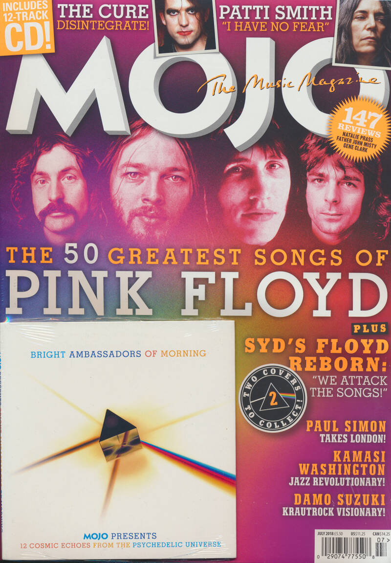 Pink Floyd - Mojo 296, July 2018 - 70s Cover [UK] - Magazine