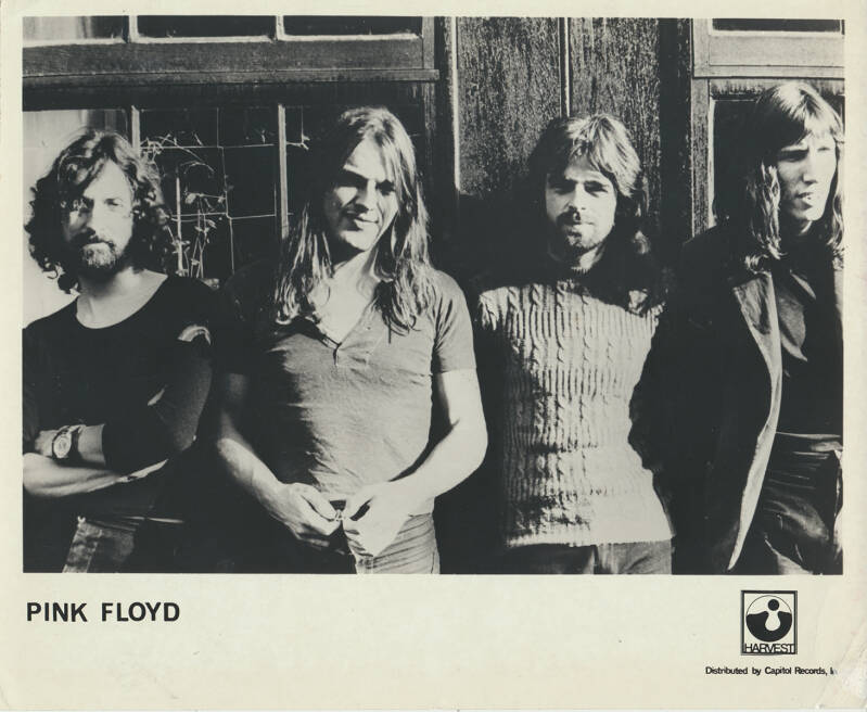 Pink Floyd - Pink Floyd [USA] - Press Photo