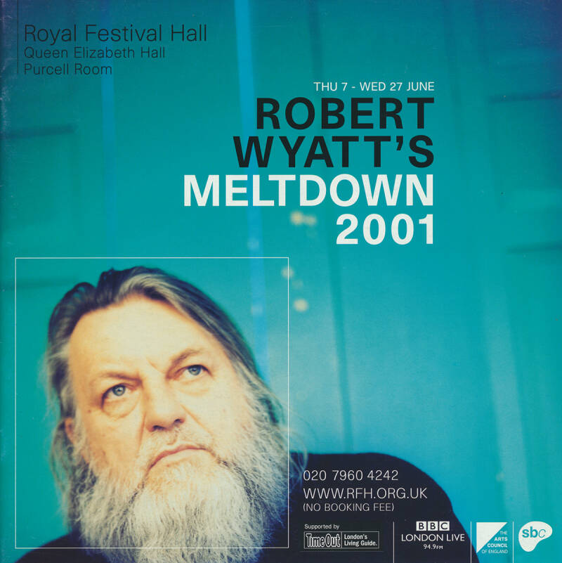 David Gilmour - Robert Wyatt's Meltdown 2001 [UK] - Programme