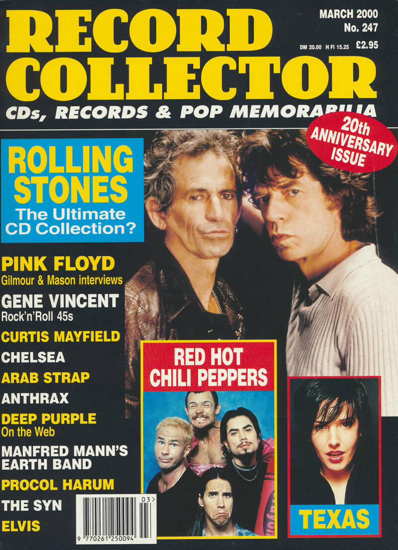 Pink Floyd - Record Collector 247, March 2000 - Magazine