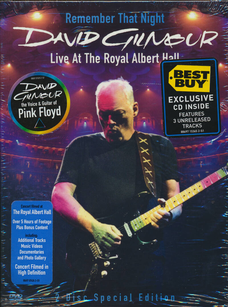 David Gilmour - Remember That Night - Live At The Royal Albert Hall [USA] - DVD