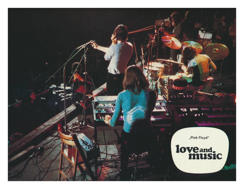 Pink Floyd - Love And Music [Germany] - Poster