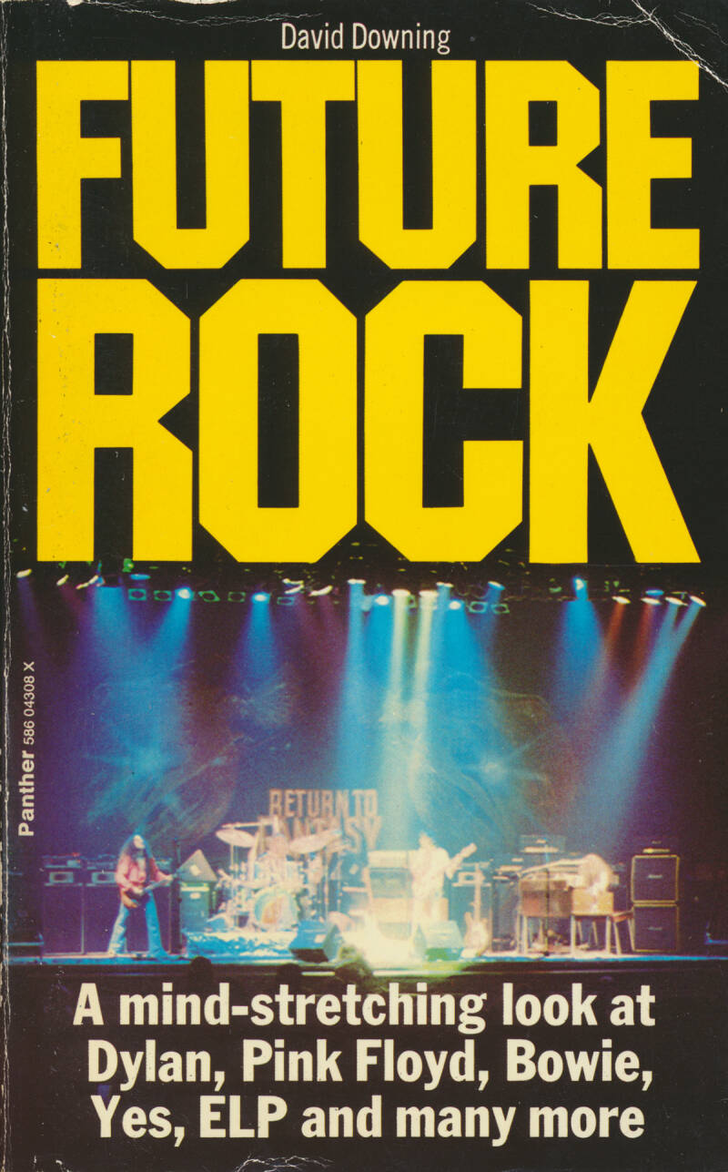 Pink Floyd (and others) - Future Rock - David Downing [UK] - Book