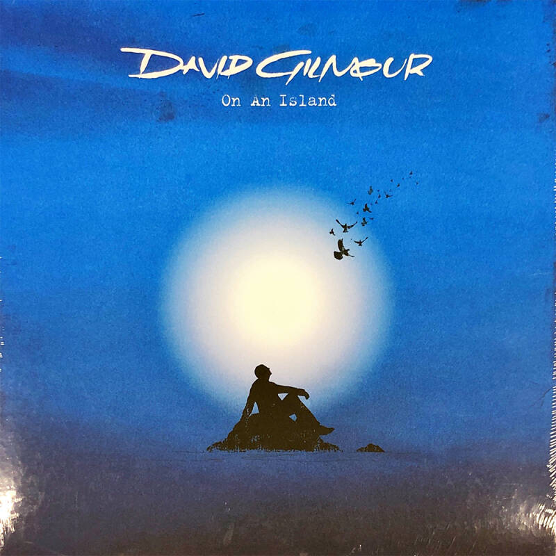 David Gilmour - On An Island [Holland, Made in Holland sticker] - LP