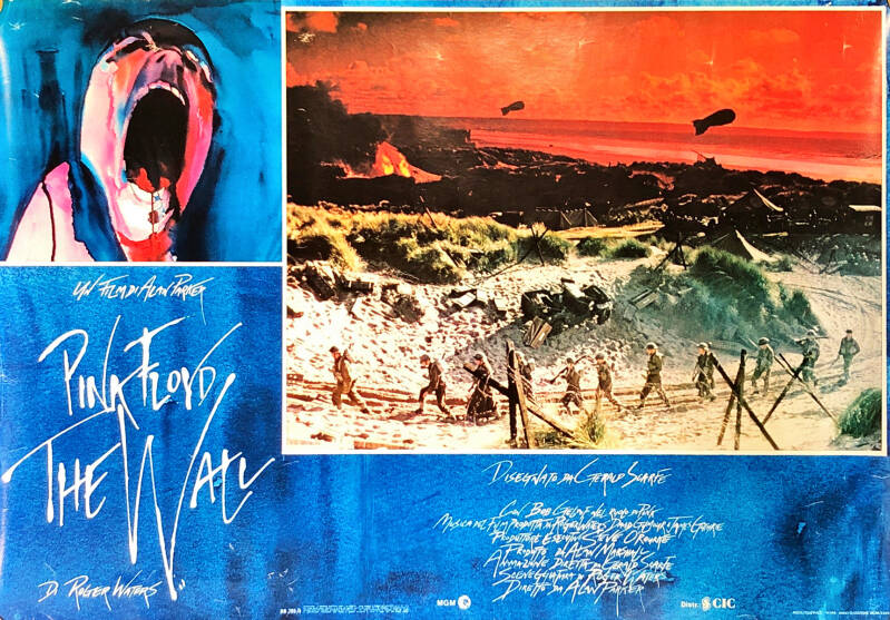 Pink Floyd - The Wall [Italy] - Poster
