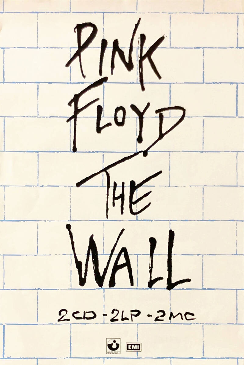 Pink Floyd - The Wall [UK] - Poster